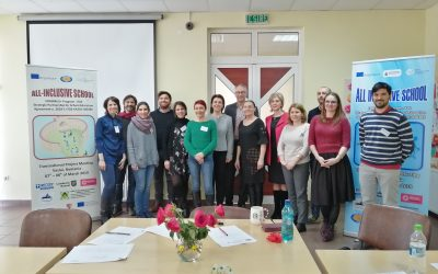 ALL-INCLUSIVE SCHOOL: THE WORK FOR THE EUROPEAN INCLUSIVE TEACHER CONTINUES