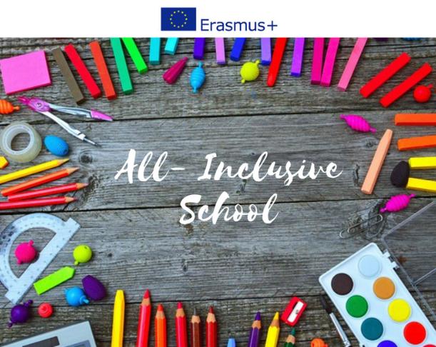 """AL VIA IL PROGETTO ERASMUS + """"ALL-INCLUSIVE SCHOOL"""" A SOSTEGNO DEGLI ALUNNI CON DISABILITÀ COGNITIVE"""